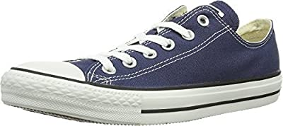 Converse Women's Chuck Taylor All Star Low Top (10 B(M) US, Navy)