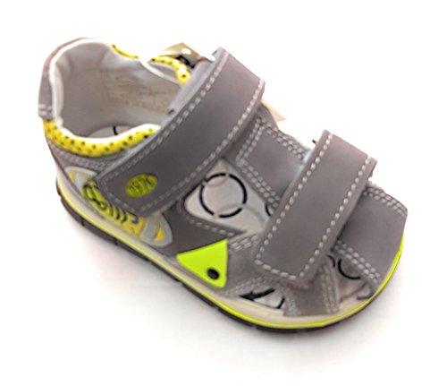Primigi - Sandalias de vestir de Piel para niño Gris gris 19