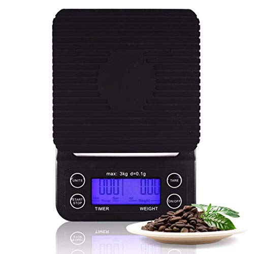 Digital Coffee Scale With Timer for Pour Over and Drip