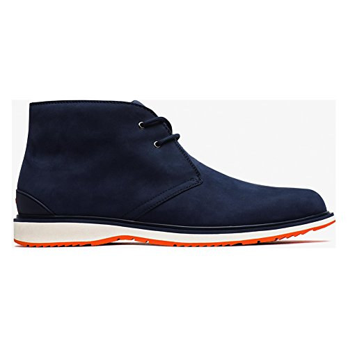New Swims Barry Chukka Navy/Orange 12 Mens Boots by SWIMS