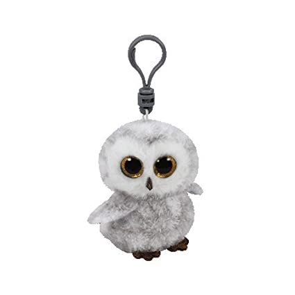 b4bc62f8e75 Image Unavailable. Image not available for. Color  Ty Beanie Boos Owlette  the White Gray Owl - Clip ...