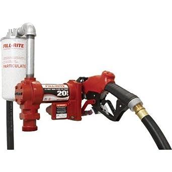 fuel transfer pump filter amazon.com: fill-rite fr4210gbfq hi-flow fuel transfer pump, telescoping suction pipe, 20 ... fuel injector pump diagram