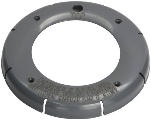 Pentair 79212265 Gray Plastic Snap-on Face Ring Replacement Pool and Spa Light