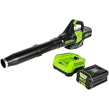 Amazon.com : Greenworks 40V 150 MPH Cordless Leaf Blower ...
