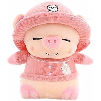 Smilesky Plush Pig Animal Stuffed Piggy Soft Toys Pink 20cm