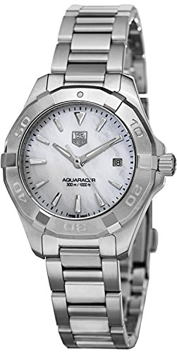 Tag Heuer Aquaracer White Mother of Pearl Dial Steel Ladies Watch WAY1312.BA0915