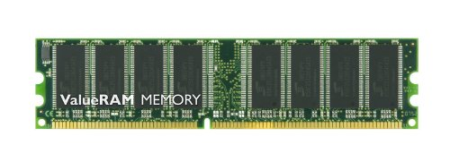 Kingston ValueRAM 512 MB 400MHz PC3200 DDR CL3 DIMM Desktop Memory KVR400X64C3A/512