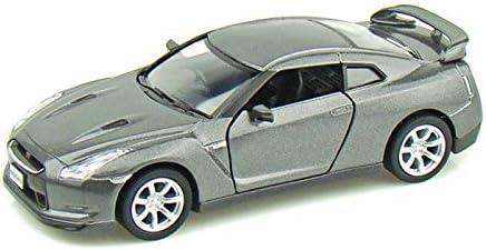Nissan GT-R R35 1//36 Model Car Alloy Diecast Toy Vehicle Gift Kids Boys Black
