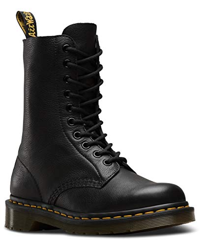 Dr. Martens Women's 1490 Boot Smooth, Black, 8 US Women