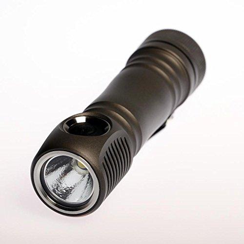 Zebralight SC63 18650 XHP35 Flashlight Cool White -1300 Lumens