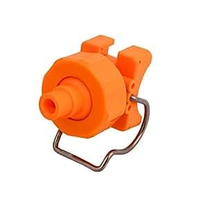 Sourcingmap BT12.5 - Boquilla de pulverización de cono sólido ajustable para tubos de 25 a 27 mm de diámetro