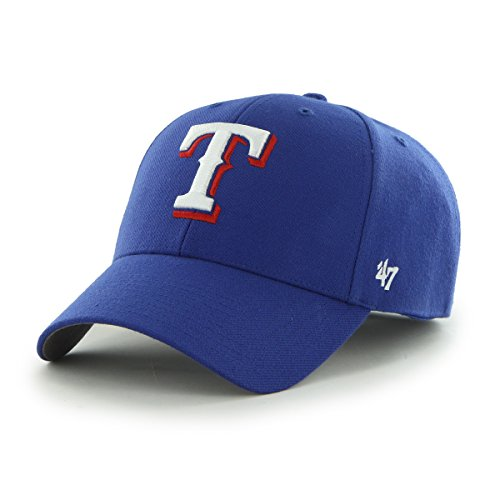 (MLB Texas Rangers Embroidered Wool Blend Structured Cap)