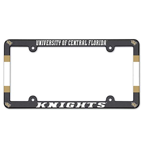 University Of Florida License Plate Frames - NCAA License Plate with Full Color Frame, University of Central Florida