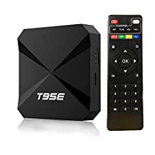 T95E Android TV Box, Android 5.1 Lollipop Rockchip RK3229 TV BOX 1GB/8GB 4K HDMI Streaming Media Player Wifi