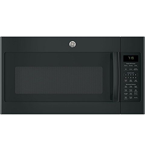 "GE JVM7195DKBB 30"" Over-the-Range Microwave Oven in Black"