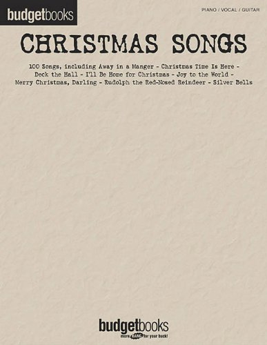 Christmas Songs: Budget Books (Favorite Christmas Song Lyrics)