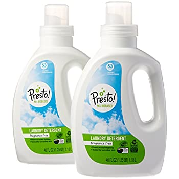 he detergent brands hammer amazon brand presto 96 biobased concentrated liquid laundry detergent fragrance free amazoncom