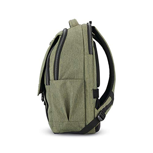 41QRrIEXXgL - Samsonite Modern Utility Paracycle Backpack Laptop, Olive, One Size