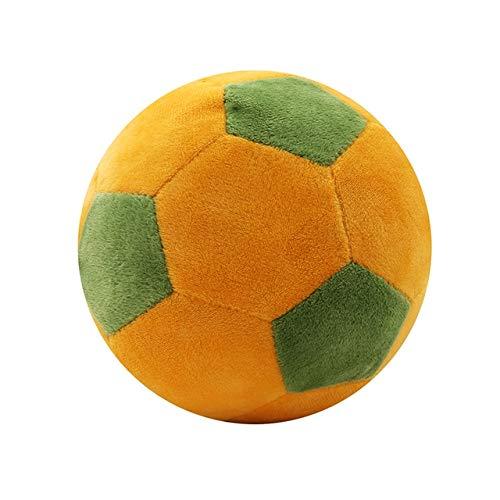 Almohada de Felpa con diseño de balón de fútbol, para niños ...