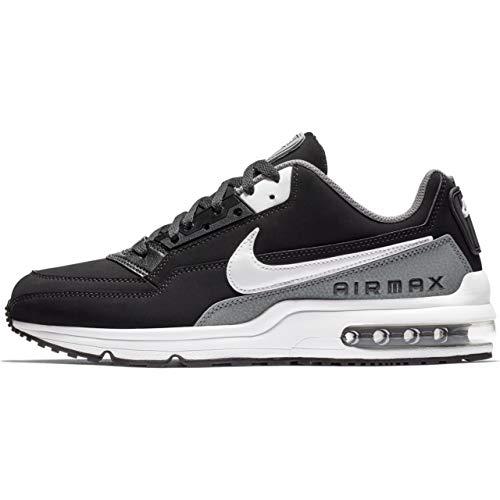 Nike Air Max LTD 3 Men's Shoes Black/Dark Grey/White bv1171-001 (9 D(M) US) (Nike Air Max 90 Black And White Suede)