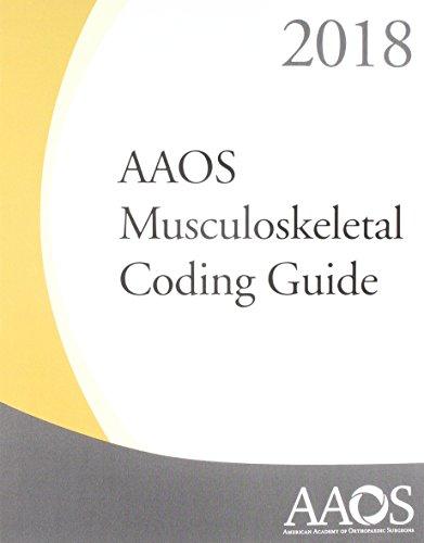 American academy of orthopaedic surgeons aaos danuweb aaos musculoskeletal coding guide 2018 fandeluxe Gallery