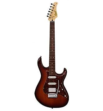 Cort serie G - 260 DX - Tobacco Burst - Guitarra eléctrica: Amazon.es: Instrumentos musicales