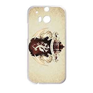 HUAH Fire And Blood Design Personalized Fashion High Quality Phone Case For HTC M8