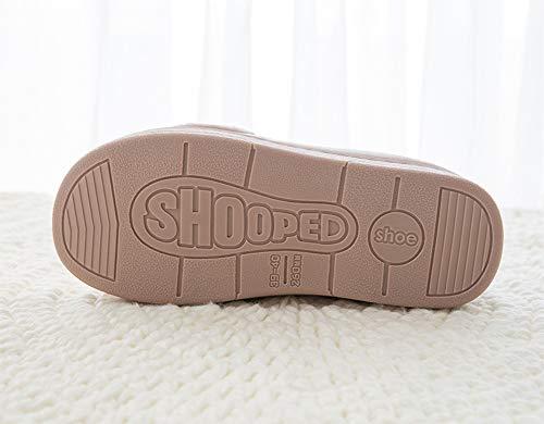 002 Interni Pantofole Uomo Slipper Di Antiscivolo Scarpe Lnisk Donne Warm Cotone nWBF4nvOw