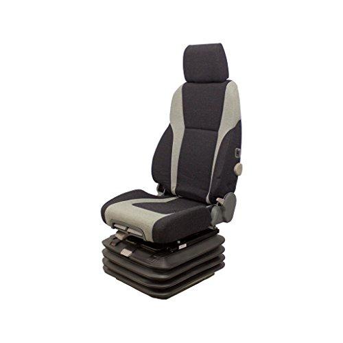 K&M Uni Pro High-Back Air Suspension Seat with 24 Volt Compressor - Model Number KM 1040