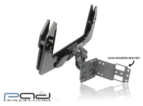 Padholdr Utility Series Premium Locking Tablet Dash Kit for 2005 - 2013 Toyota Tacoma by PADHOLDR (Image #2)
