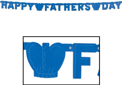 DDI 683051 Foil Happy Father's Day Streamer Case of 24 by DDI