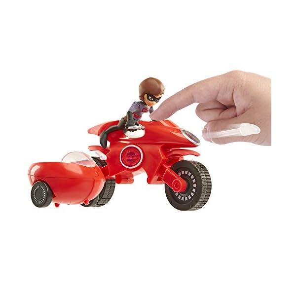 41QRtzfQWnL The Incredibles 2 Elasticycle & Elastigirl Vehicle Playset Action Figure