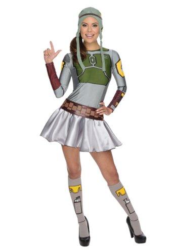 Secret Wishes Star Wars Female Boba Fett, Multicolor, Small - Boba Fett Dress