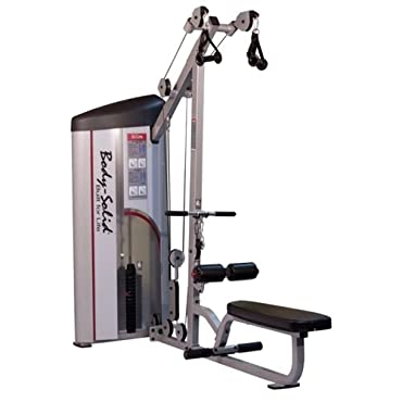 Lat Pulldown and Low Row Machine with 235 lbs. Weight Stack