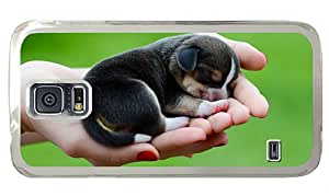 Hipster customized Samsung S5 Case beagle dog puppy PC Transparent for Samsung S5