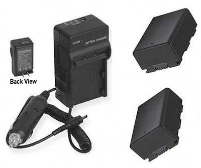 2つ2電池+充電器for Samsung hmxh304sn、SAMSUNG hmx-h304rn、SAMSUNG hmxh304rn、SAMSUNG hmx-h304un B01DNAB052