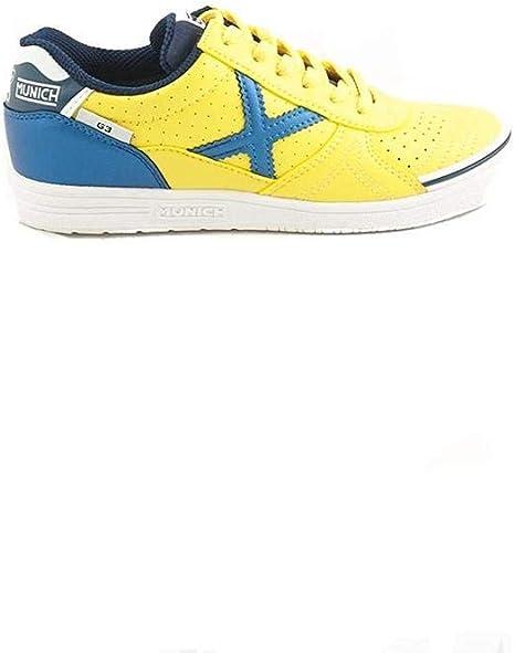 Munich G-3 Kid Profit 726 - Zapatillas de fútbol Sala, Unisex Infantil, Amarillo - (Amarillo): Amazon.es: Deportes y aire libre