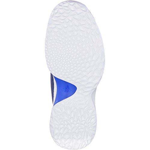 adidas Harden Vol. 1, Scarpe da Basket Uomo Blu (Tinley / Indnob / Negbás 000)