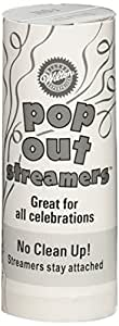 Wilton 1006-932 Pop Out Streamers, 14 pack