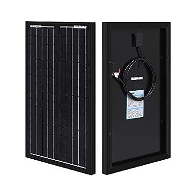 Renogy 30W 12V Monocrystalline Solar Panel High Efficiency Module