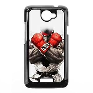 HTC One X phone case Black street fighter ryu XXD0021107