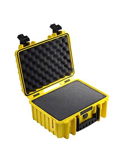 B&W Outdoor Cases Typ 3000 SI (Schaumstoffeinsatz) gelb