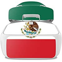 Skin For DJI Goggles – Mexican Flag | MightySkins Protective, Durable, and Unique Vinyl Decal wrap cover | Easy To Apply, Remove, and Change Styles | Made in the USA