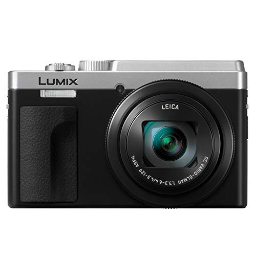 PANASONIC LUMIX ZS80 20.3MP Digital Camera, 30x 24-720mm Travel Zoom Lens, 4K Video, Optical Image Stabilizer and 3.0-inch Display - Point & Shoot Camera with Lecia Lens- DC-ZS80S (Silver)