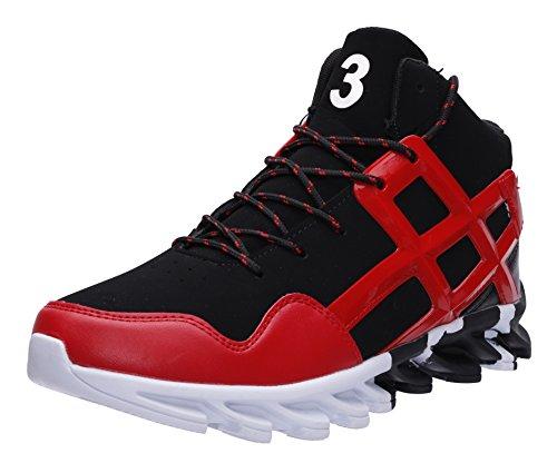Mode Pour Hommes Joomra Les Chaussures De Course 39-45 Avec 20 Couleur Rouge Z68