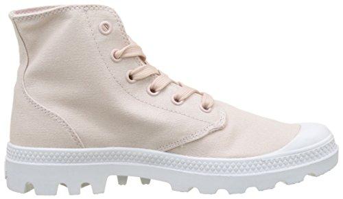 Whip Para Zapatillas K74 Blanc peach Mujer Pampa Altas Rosa Hi Palladium wzqZtXB