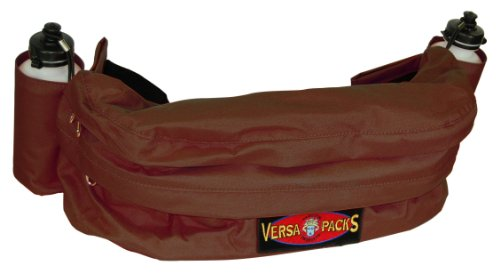 Deluxe Fanny Pack - Hamilton Versa-Packs Equine Cantle Bag/Fanny Pack Deluxe, Brown