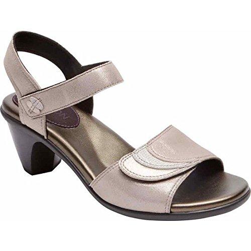 [アラヴォン] レディース サンダル Medici Adjustable Quarter Strap Sandal [並行輸入品] B07DHQ22B8 11-D_Wide