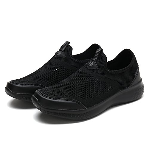 DREAM PAIRS Women's C0189_W All Black Fashion Running Shoes Sneakers Size 8 M US by DREAM PAIRS (Image #5)