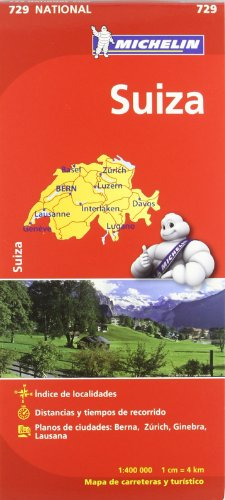 Suiza. Mapa national 729